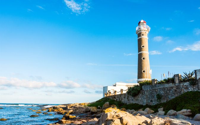 Lighthouse in Jose Ignacio near Punta del Este, Uruguay via Shutterstock*