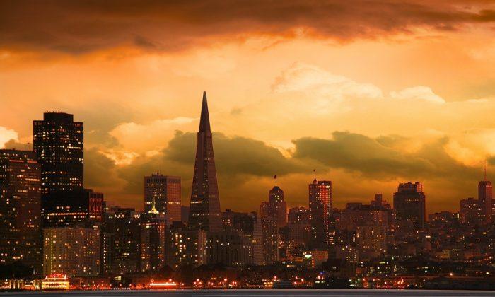 San Francisco skyline via Shutterstock*