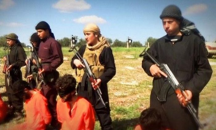 A teenager has been beheaded by ISIS for listening to pop music (file picture of different execution)