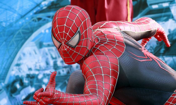 A person dresses up as Spider-man in this file photo. (AFP/Getty Images)