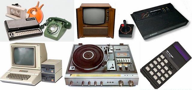 Technology, Fashion and Toys played an increasingly important part in people's lives in the 70s.