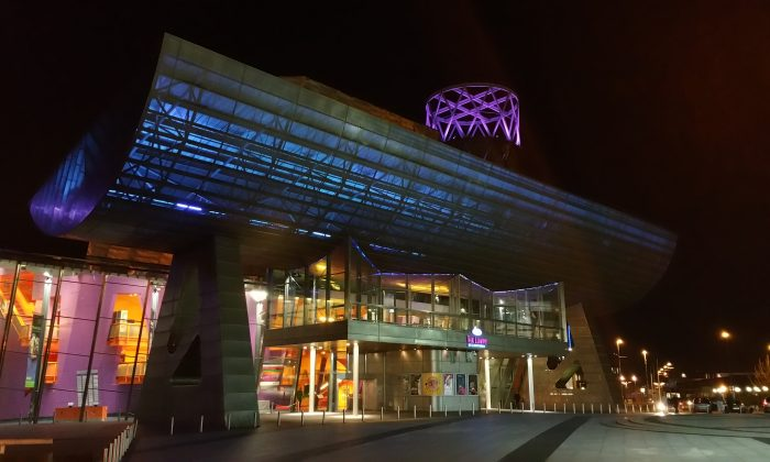 The Lowry Theatre, Salford Quays, Greater Manchester, hosted Shen Yun Performing Arts for the first time on March 31, 2015. (Simon Gross)