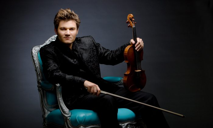 Violinist Alexandre Da Costa will play highlights from several operas at Chamberfest 2015. (Bo Huang)