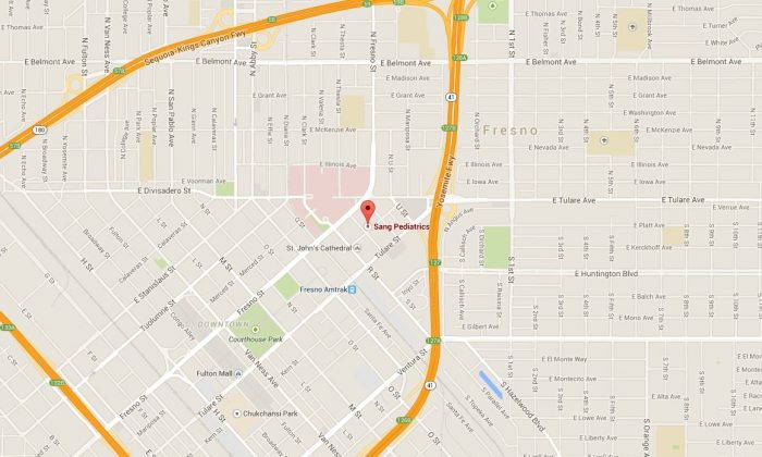 A shooting was reported near a medical office in Fresno, California, on Tuesday, according to reports. (Google Maps)