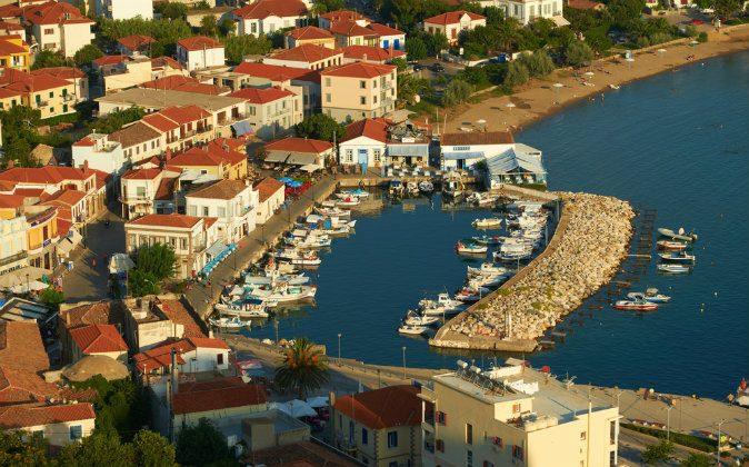 Myrina city, Lemnos island, Greece via Shutterstock*