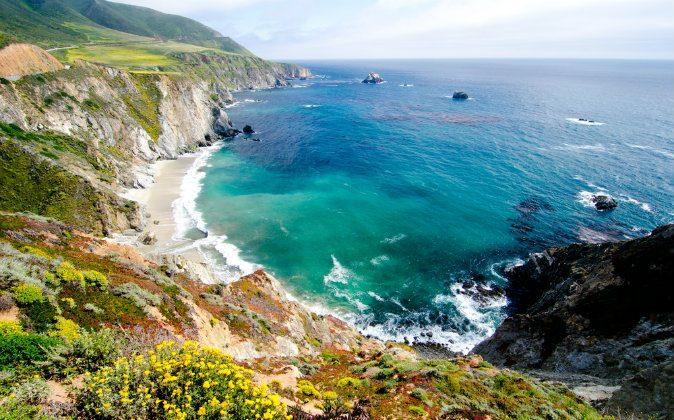 California's coastline along California State Route 1 via Shutterstock*