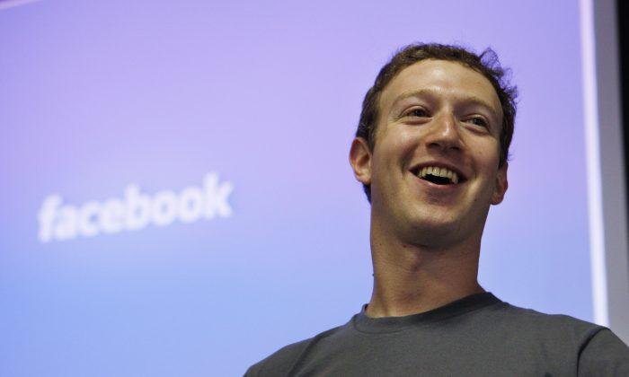 Mark Zuckerberg, chief executive officer of Facebook. (Paul Sakuma/File via AP)