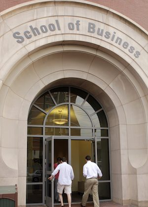 The Virginia Commonwealth University School of Business in Richmond, Va., on July 23, 2014. (Jay Paul/Getty Images)
