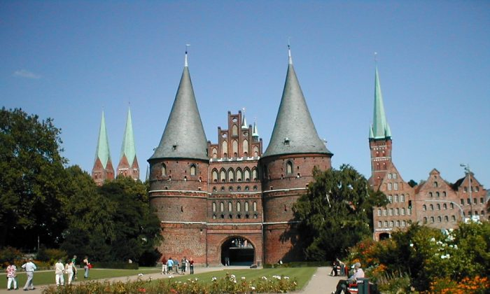 Holstentor gate Lubeck (The Travel Magazine)