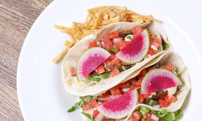 Cajun Fish Tacos. (Alex Stein)