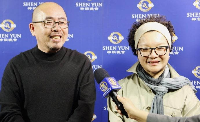 Taoyuan's Artists Drawn By Shen Yun's Spirituality