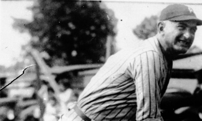 "Joseph ""Shoeless Joe"" Jackson was one of the key figures in the infamous ""Black Sox"" scandal, which rocked baseball and caused the introduction of a baseball commissioner. He ended his career with a lifetime batting average of .356 and was an exceptional outfielder. (AP photo)"
