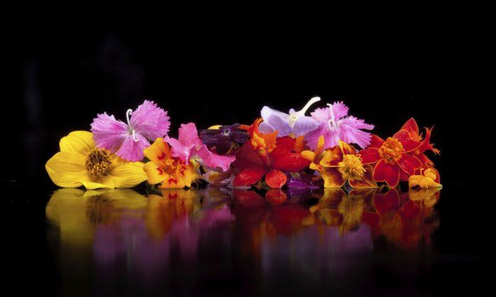 Assorted edible flowers. (ryanmatthewsmith/iStock/Thinkstock)