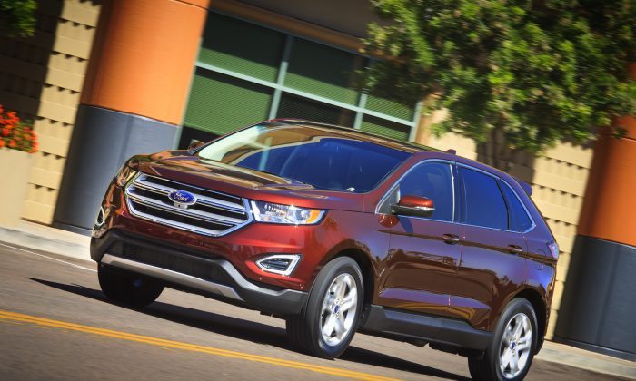 2015 Ford Edge (Courtesy of Ford)