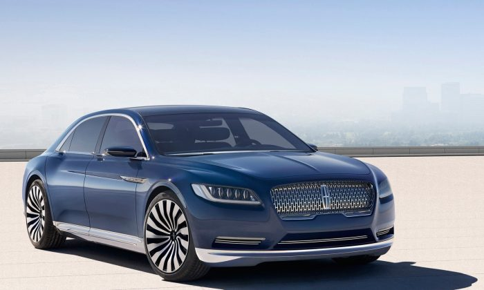 Lincoln Continental Concept (Courtesy of NetCarShow.com)