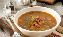Chicken Soup with Lentils