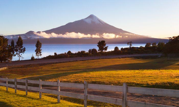 Osorno Volcano, Patagonia, Chile via Shutterstock*