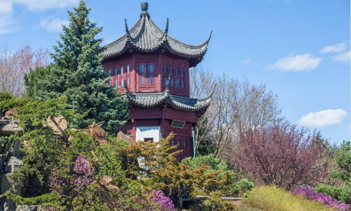 Chinese Garden in the Montreal Botanical Garden, Montreal via Shutterstock*