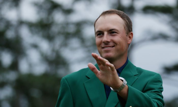 Jordan Spieth tied the 72-hole course record in winning his first Masters. (Andrew Redington/Getty Images)