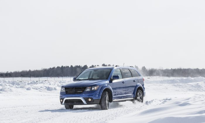 2015 Dodge Journey (Courtesy of Chrysler/Dodge)