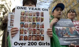 School Girls Kidnapped by Boko Haram Not Forgotten in Nigeria One Year Later