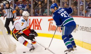 Canucks Hold Slim Edge Over Flames