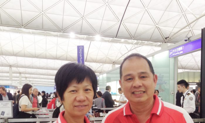 Hong Kong bowlers Celena Kwok (left) and Stephen Chan departed to Australia last Friday, April 10, to participate in the 11th World Cup Singles Championship. Thirty seven elite bowlers from 21 countries will compete at the event from April 15-23. (Herbert Kwok)