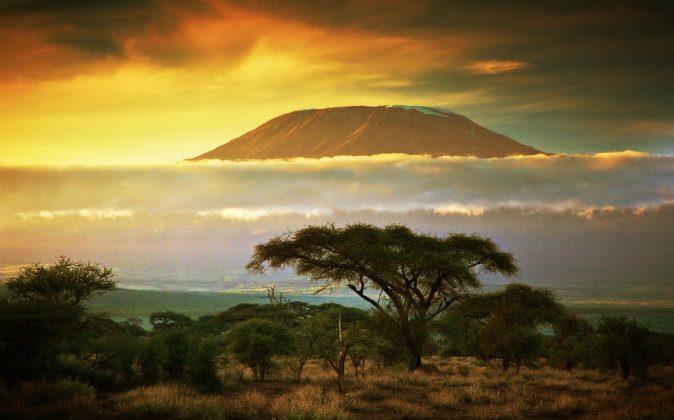 Mount Kilimanjaro via Shutterstock*