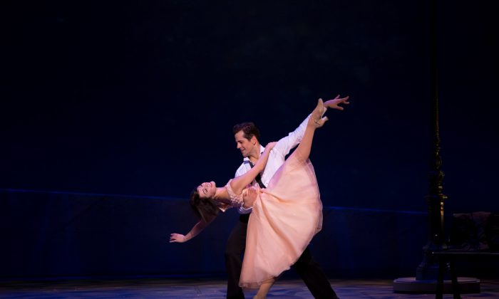 """The marvelous dancers Lise Dassin and Robert Fairchild play the romantic pair in """"An American in Paris."""" (Angela Sterling)"""