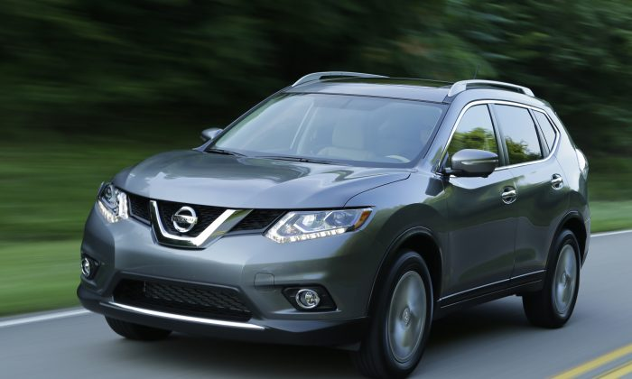 2015 Nissan Rogue (Courtesy of Nissan)