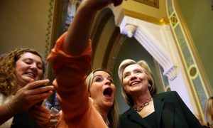 Hilary Clinton Embraces Democrat Party's Liberal Ideals at Start of 2016 Campaign