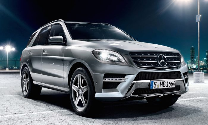 2015 Mercedes-Benz M-Class (Courtesy of Mercedes-Benz)