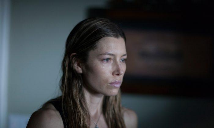 "Jessica Biel as May in ""Bleeding Heart"" (Aaron Epstein)"
