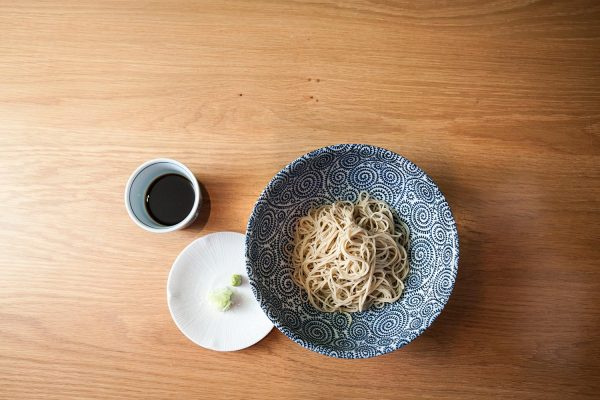 Among the Japanese, soba's health benefits are no secret. In Tokyo, some eat it three times a day. (Samira Bouaou/Epoch Times)
