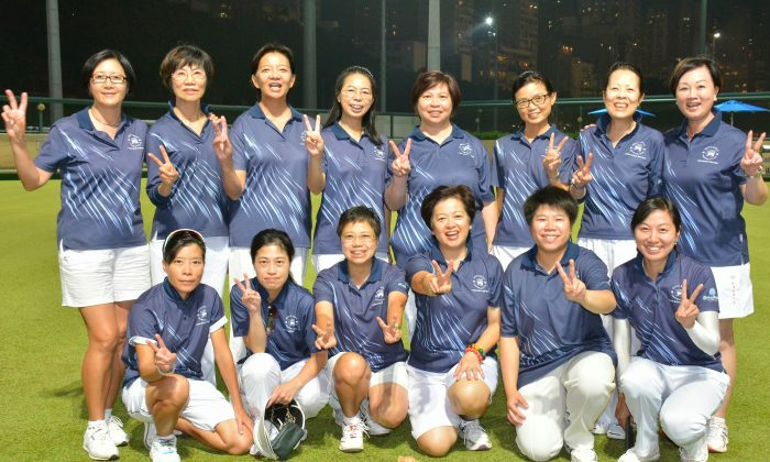The Hong Kong Football Club ladies team (WPL Division 1 Champions) is looking to set the record again by winning the forthcoming Premier League, which will start this weekend, April 25, 2015. The team has won the last eight competitions consecutively. (Mike Worth)