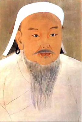 Portrait of Genghis Khan by an anonymous court painter. (Public Domain/ Wikimedia Commons)