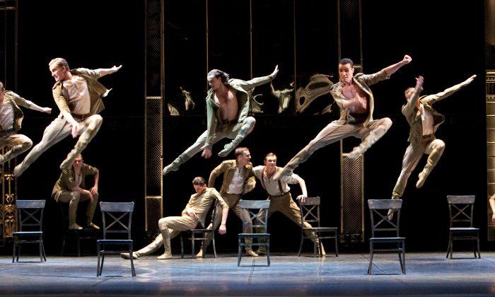 "Scenes from the Eifman Ballet's production of ""Anna Karenina."" (Hana Kudryashova)"