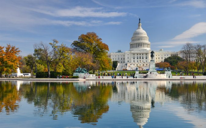 US Capitol Building, Washington DC via Shutterstock*