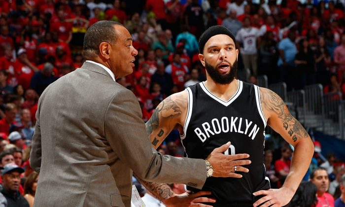 Lionel Hollins of the Brooklyn Nets (L) will try to guide Deron Williams and the Brooklyn Nets to a first-round upset over the top-seeded Atltanta Hawks. (Kevin C. Cox/Getty Images)