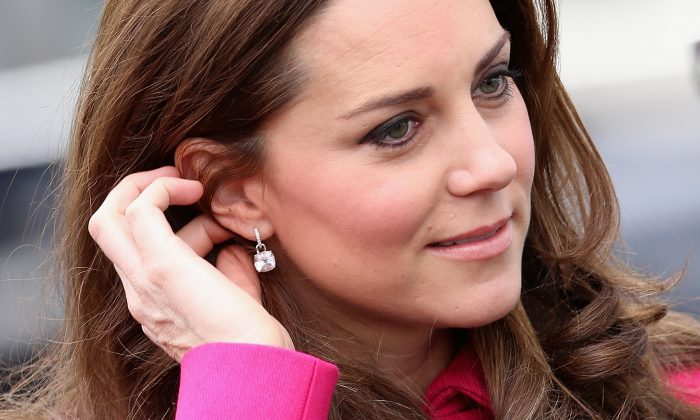 Catherine, Duchess of Cambridge arrives at the Stephen Lawrence Centre on March 27, 2015 in London, England.  (Chris Jackson/Getty Images)