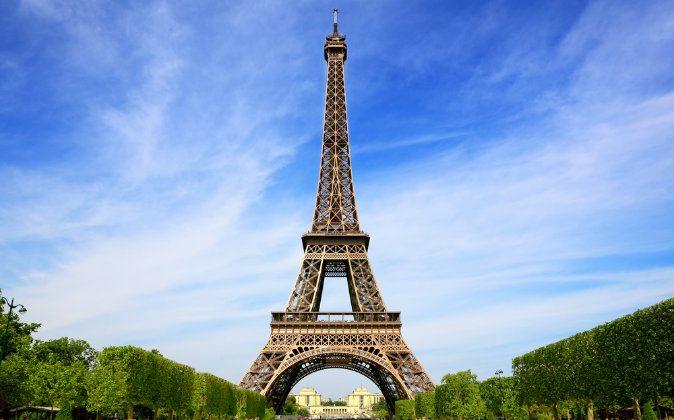 Eiffel Tower, symbol of Paris via Shutterstock*