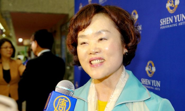 Park Yeongsuk: Shen Yun, 'So Exquisite and Beautiful!'