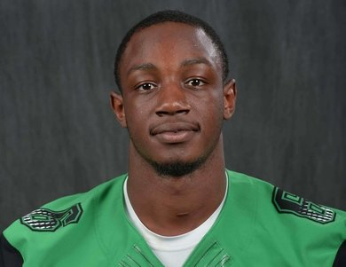 Marshall linebacker Neville Hewitt was named Conference USA's Defensive Player of the Year. (Photo provided by Marshall Athletics)