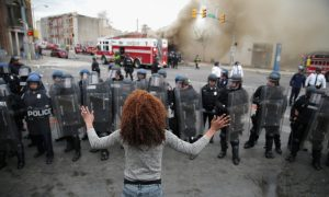 The Media and Baltimore: Covering the Dramatic Versus the Representative