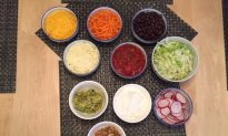 "Cinco de Mayo with a Healthy ""Build Your Own"" Taco Dinner"