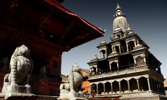 Patan's temple at Darbar square. Kathmandu's Darbar Square was one of the worst affected by the earthquake. (*Shutterstock)
