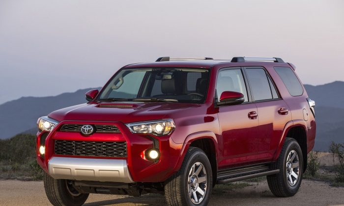 2015 Toyota 4Runner Trail Edition (Courtesy of NetCarShow.com)