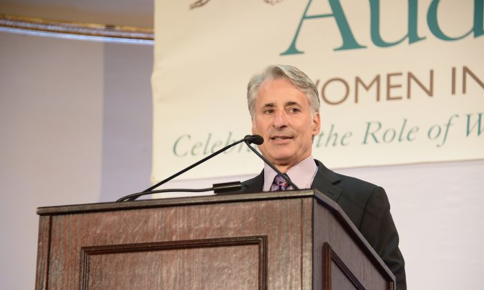 President and CEO of the National Audubon Society David Yarnold at The Plaza Hotel in Manhattan, N.Y., on May 20, 2014 . (Michael Loccisano/Getty Images for  The National Audubon Society)