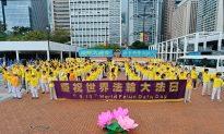 Hongkongers Celebrate World Falun Dafa Day