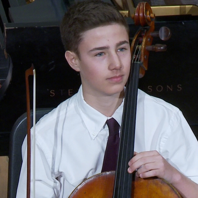 On May 4th, Alexander Rohatyn, made his concerto debut with the New York Concerti Sinfonietta performing the Elgar Cello Concerto I, II and Sujari Britt, also a student of Marion Feldman at the Manhattan School of Music, played the fourth movement of the Elgar Cello Concerto. (Mark Minaly)